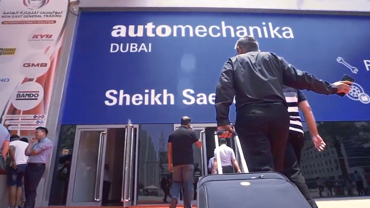 Automechanika Dubai 2019 Day 1 Highlights Video