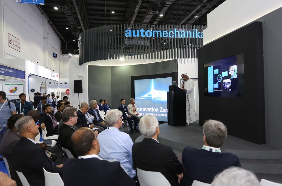 Panel at Automechanika Dubai