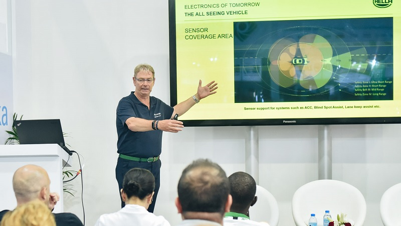 Training at Automechanika Dubai