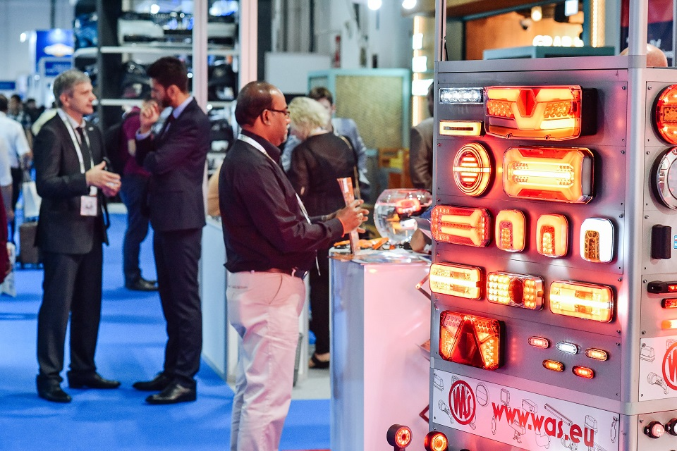 Automechanika Dubai show floor